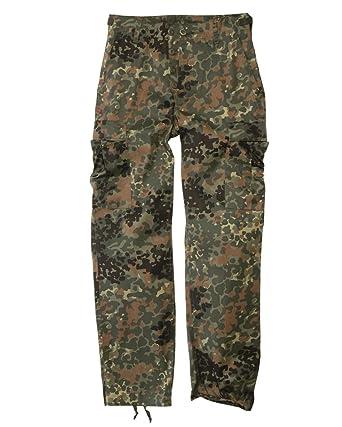 a5d1cab321926 Amazon.com: Mil-Tec Men's Us Army Ranger Trousers Work Combat Military  Casual Pants Flecktarn: Clothing