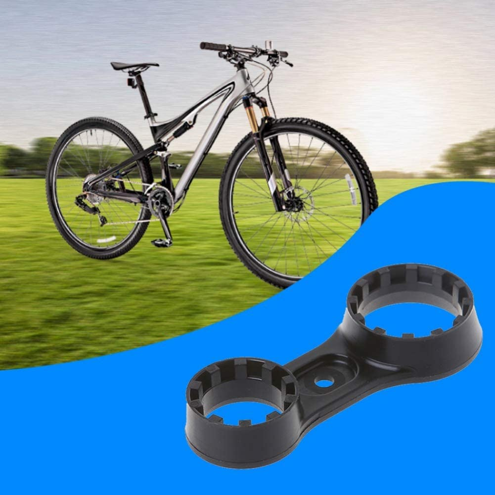 Bike Unloading Wrench Leezo Bicycle Front Fork Mountain Bike Repair Tools Remove Wrenches Spanner Double Head MTB Bike Parts Accessories For SR Suntour XCT//XCM//XCR