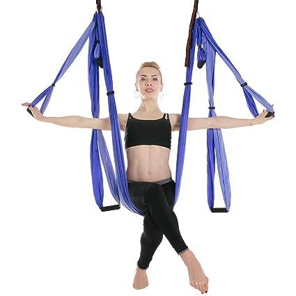 Amazon.com : sgfbhd Aerial Yoga Swing Set - Yoga Hammock Kit ...