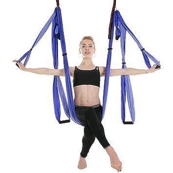 sgfbhd Juego de Columpio para Yoga - Kit de Hamaca de Yoga ...