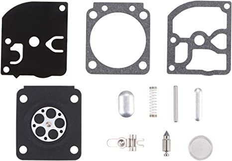 uxcell Carburetor Overhaul Rebuild Kit for ZAMA RB-77 for STIHL 021 023 025 MS210 MS230 MS250 Chainsaw