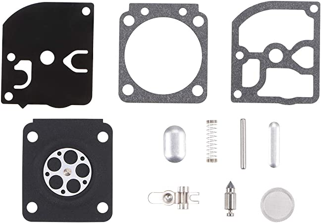 uxcell Carburetor Rebuild Kit Gasket Diaphragm RB-31 for Stihl 034 MS340 036 MS360 044 Zama C3A S4A S4B S4C S19 S25 S26 S27 S27A S27B S27C Engines Carb 2pcs