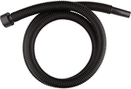"""Black No Cuffs Vacuum Crushproof Hose Commercial 2/' X 1-1//4/"""" Household"""