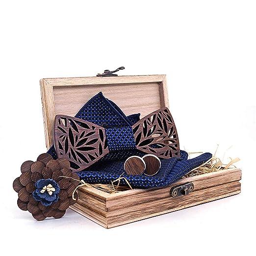 Corbatas de lazo para hombre Bowknot de la pajarita de madera es ...