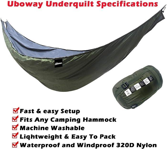 UBOWAY Unique Underquilt Hammock