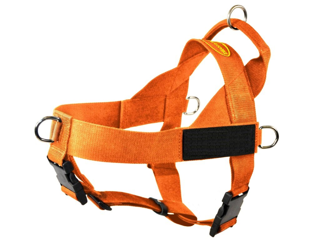 orange Medium orange Medium Dean & Tyler DT Universal No Pull Dog Harness with Black Patches, orange, Medium