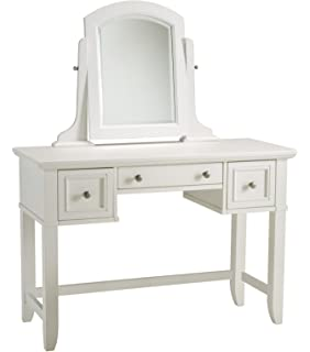 Home Styles 5530 70 Naples Vanity Table  White FinishAmazon com  Vanity Set with Mirror  Kitchen   Dining. Off White Vanity Table. Home Design Ideas