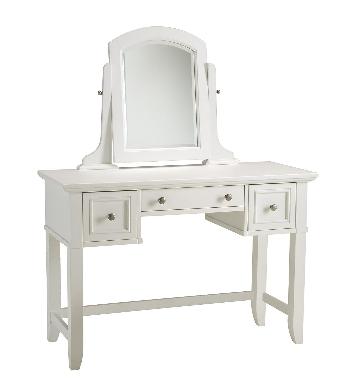 Amazon Home Styles 5530 70 Naples Vanity Table White Finish