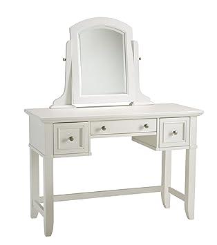 home styles naples vanity table white finish