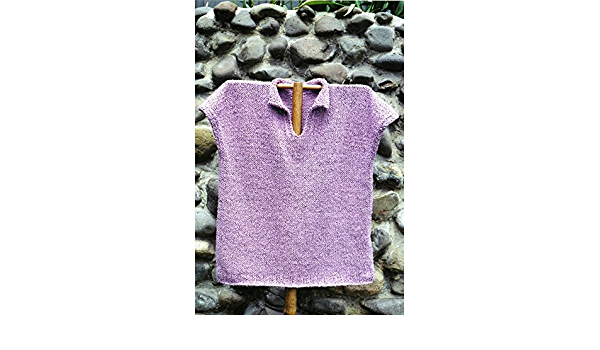 Bistro Shirt Women 31-49 Easy Knit Oat Couture Knitting Pattern EK706