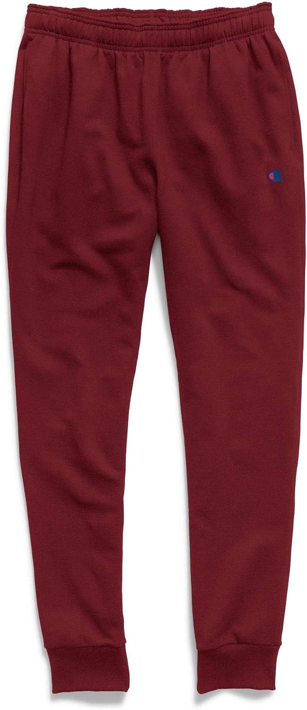 Champion Men's Powerblend Retro Fleece Jogger Pant: Clothing