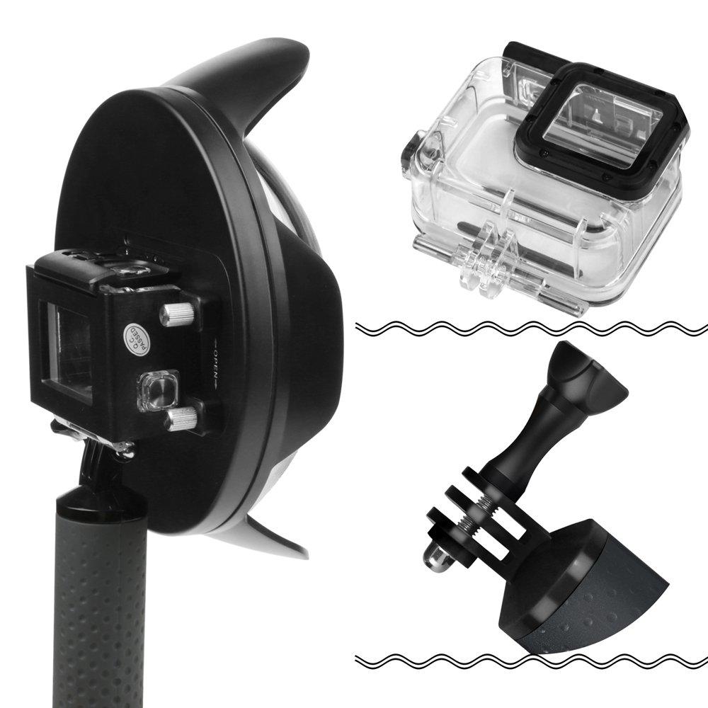 Shoot Underwater Lens Hood Dome Port for GoPro HERO7 Black/HERO6/HERO5/HERO2018 Action Camera (Shoot Official Accessory) (XTGP376B) by unbrand (Image #6)