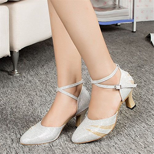 Shoes da ballo donna Scarpe KeKe M023White daFwggx