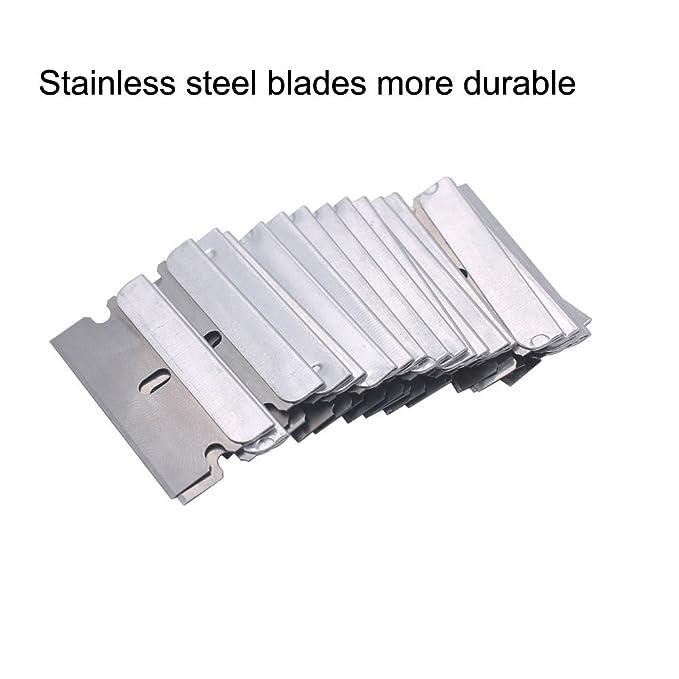 Amazon.com: eefun plástico retráctil cuchilla de afeitar ...