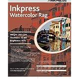Inkpress LT851125 Fine Art Watercolor Rag 200 8.5in. X 11in. 25 Sheets