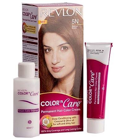 Buy Revlon Color N Care Medium Brown 5n Hair Color Cream 40g
