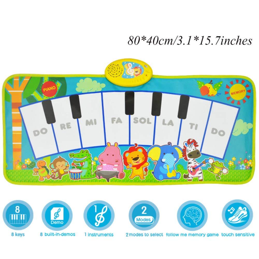 tienda en linea Bebé Pedal Piano Estera Educación Temprana Temprana Temprana Infant Toddlers Carpet For Fitness, Play, Activity, Music,G  Envío rápido y el mejor servicio