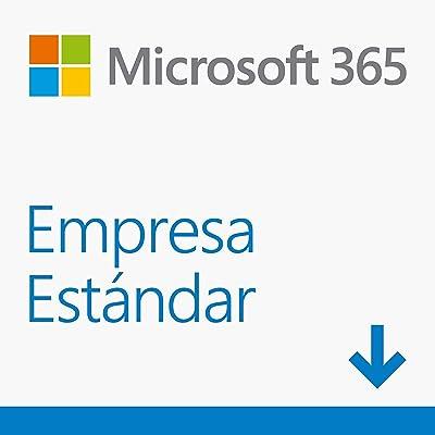 Microsoft 365 Empresa Estándar   Suscripción anual para una licencia   5 teléfonos/5 tabletas/5 PCs o equipos Mac para 1 persona