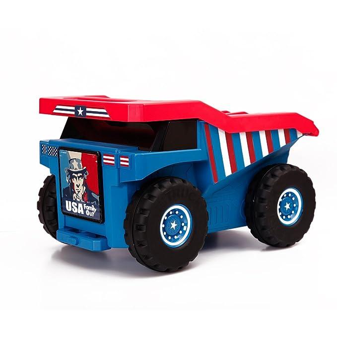 Amazon.com: PUQU Monster Truck - Maleta de viaje para niños ...