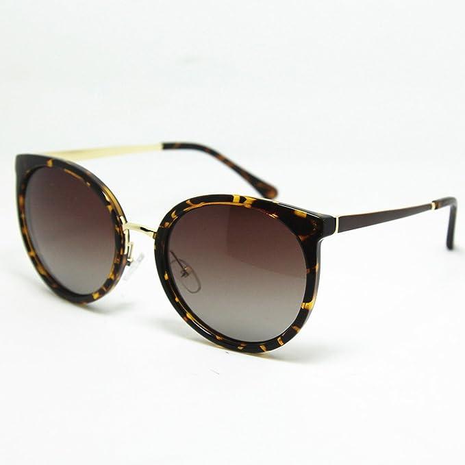 Amazon.com: Gafas de sol redondas para mujer, estilo retro ...