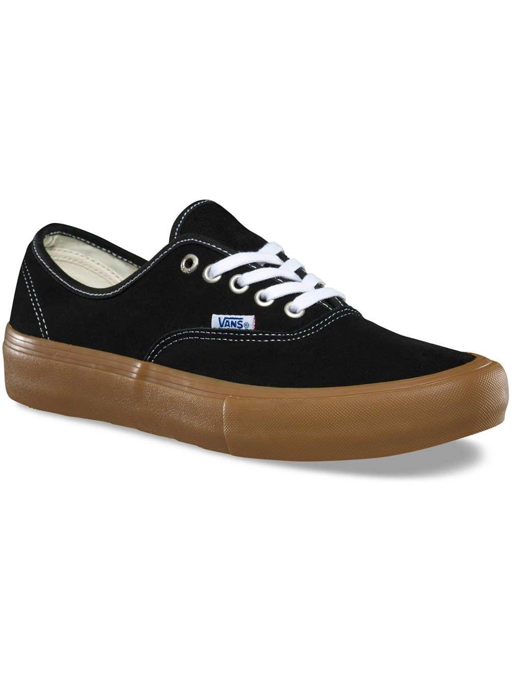 Vans AUTHENTIC, Unisex-Erwachsene Unisex-Erwachsene AUTHENTIC, Sneakers schwarz/light gum f9eb25