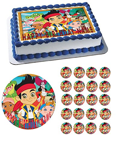 Jake and The Neverland Pirates Cake Topper - 10
