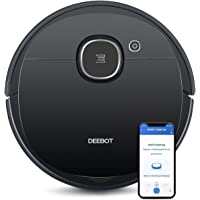 Ecovacs DEEBOT OZMO 920 2-in-1 Vacuuming and Mopping Robot with Smart Navi 3.0 Systematic Cleaning, Multi-Floor Mapping…