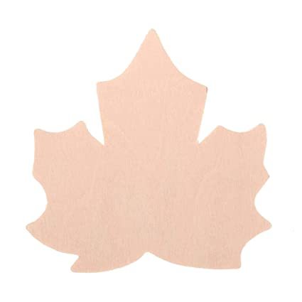 Bulk Buy Darice Diy Crafts Wood Cutout Maple Leaf 3 Inches 36 Pack 9133 110