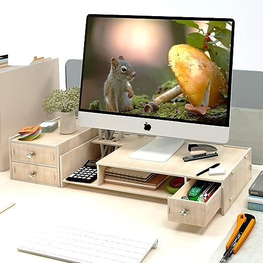 Escritorio Para Computadora, Monitor De 2 Niveles, Marco De Altura ...