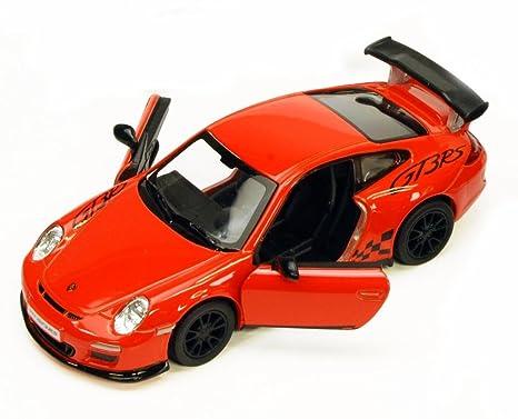 Amazon Com 2010 Porsche 911 Gt3 Rs Orange Kinsmart 5352d 1 36