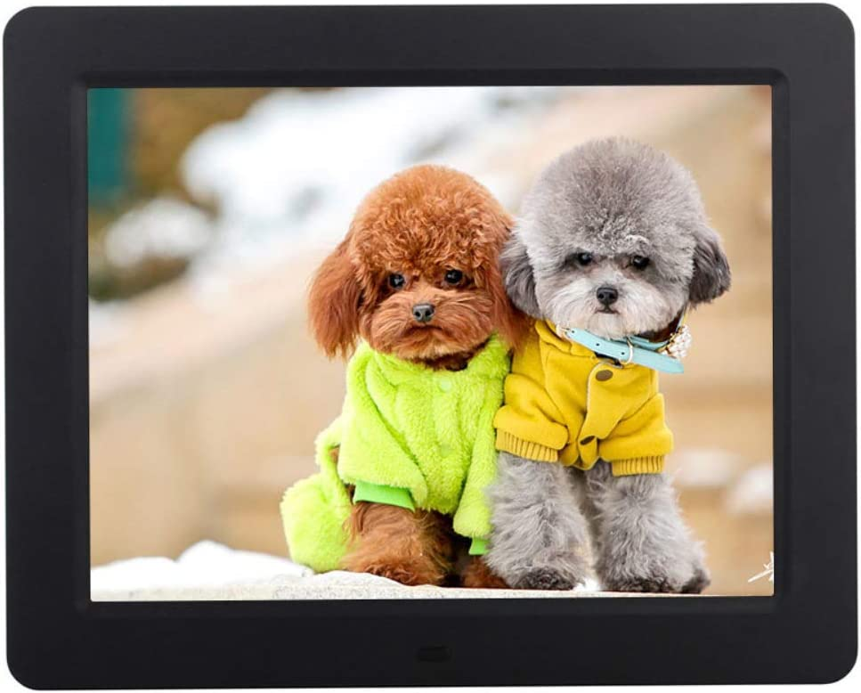 HD Picture Video Frame with Auto-Rotate Calendar WANGOFUN 10.1 Inch Digital Photo Frame Alarm Supports External USB and SD Card and Remote Control