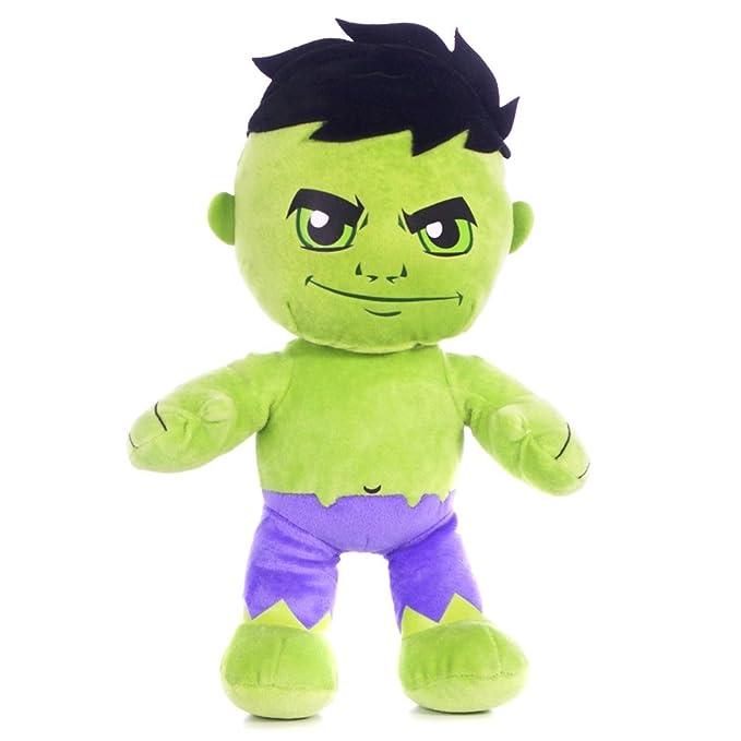 """Les Avengers """"The avengers""""- Hulk peluche 20cm super soft - très bonne qualité - Marvel"""