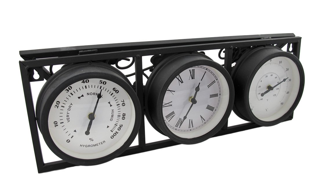 amazoncom outdoor wall mounted outside thermometer garden u0026 outdoor