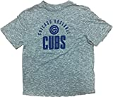 Majestic Athletic Chicago Cubs Chicago Baseball Adult T-Shirt Gray