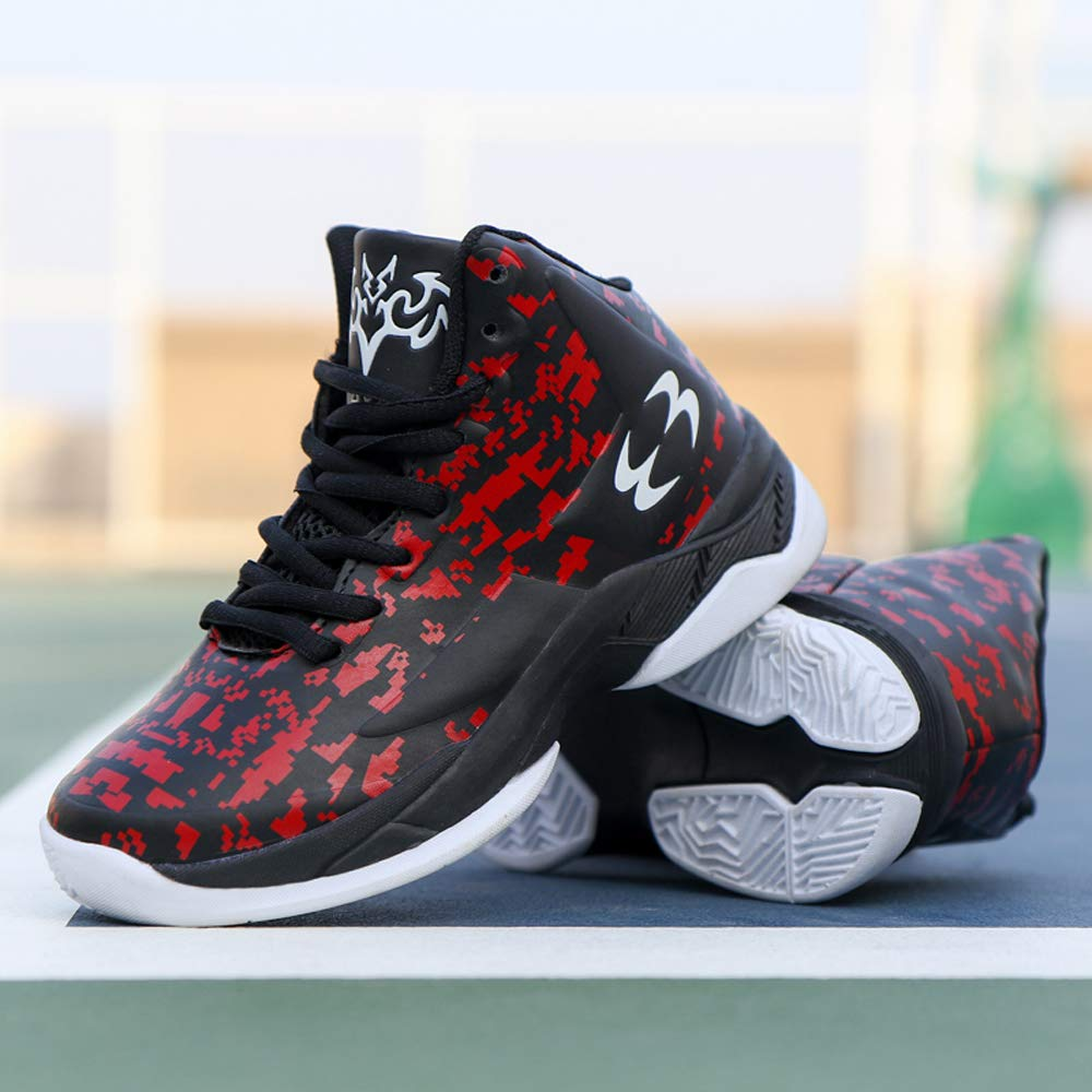 Boys Basketball Shoes Brand High Top Children Outdoor Sports Shoes Rubber Sneakers Child Basket Ball Shoes