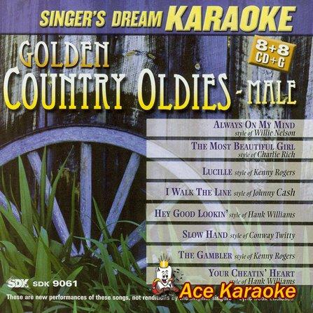 Golden Country Oldies Male - Karaoke CDG