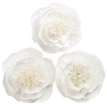 Amazon Letjolt Paper Flower Decorations White Crepe Paper