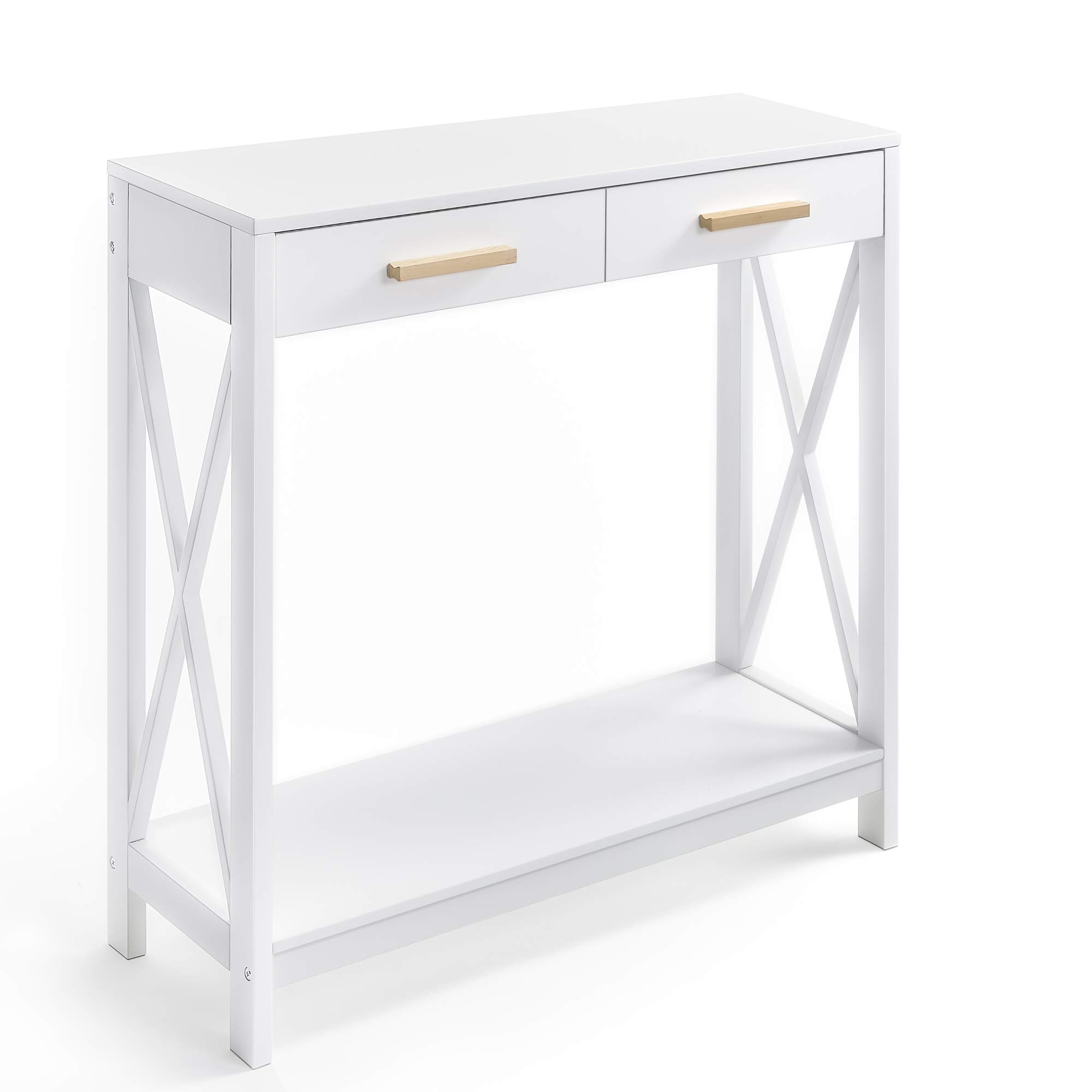 Prosumer's Choice Modern Entryway Console, Narrow Sofa Table w/ Single Drawer Storage by Prosumer's Choice