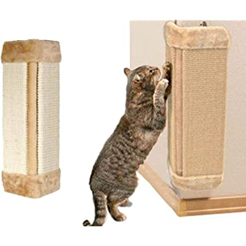 Amazon Com Per Sisal Wall Saver Corner Cat Scratcher Mat