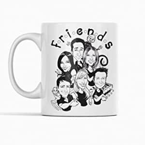 Coffee Cup - Friends Tv Show