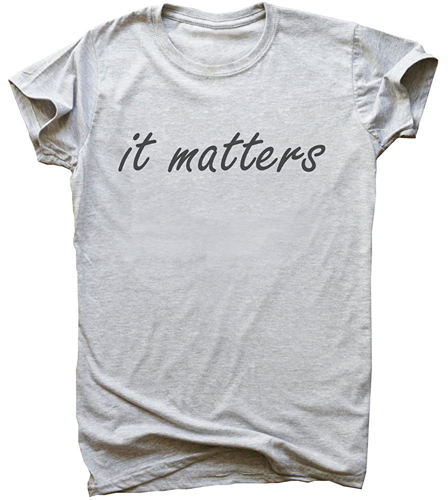 It Matters Minimal Design Mens T-Shirt