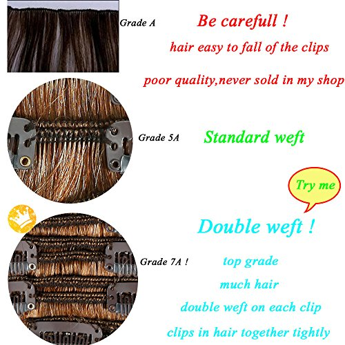 Buy human clip in hair extensions