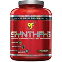 BSN Syntha-6 Sustained Release Protein Powder Chocolate Milkshake (5.04 lbs.)