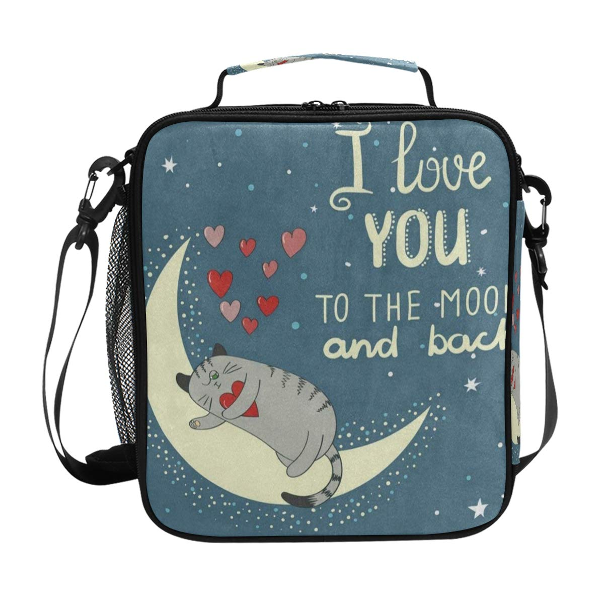 Amazoncom I Love You To The Moon And Back Quote Cat Kitten