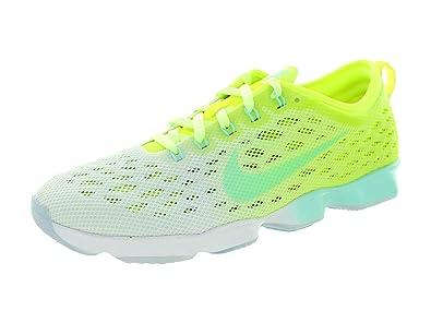 b500aad895f Nike Chaussures Flyknit Zoom Agility Couleurs Assorties Vert Vert 36.5 EU