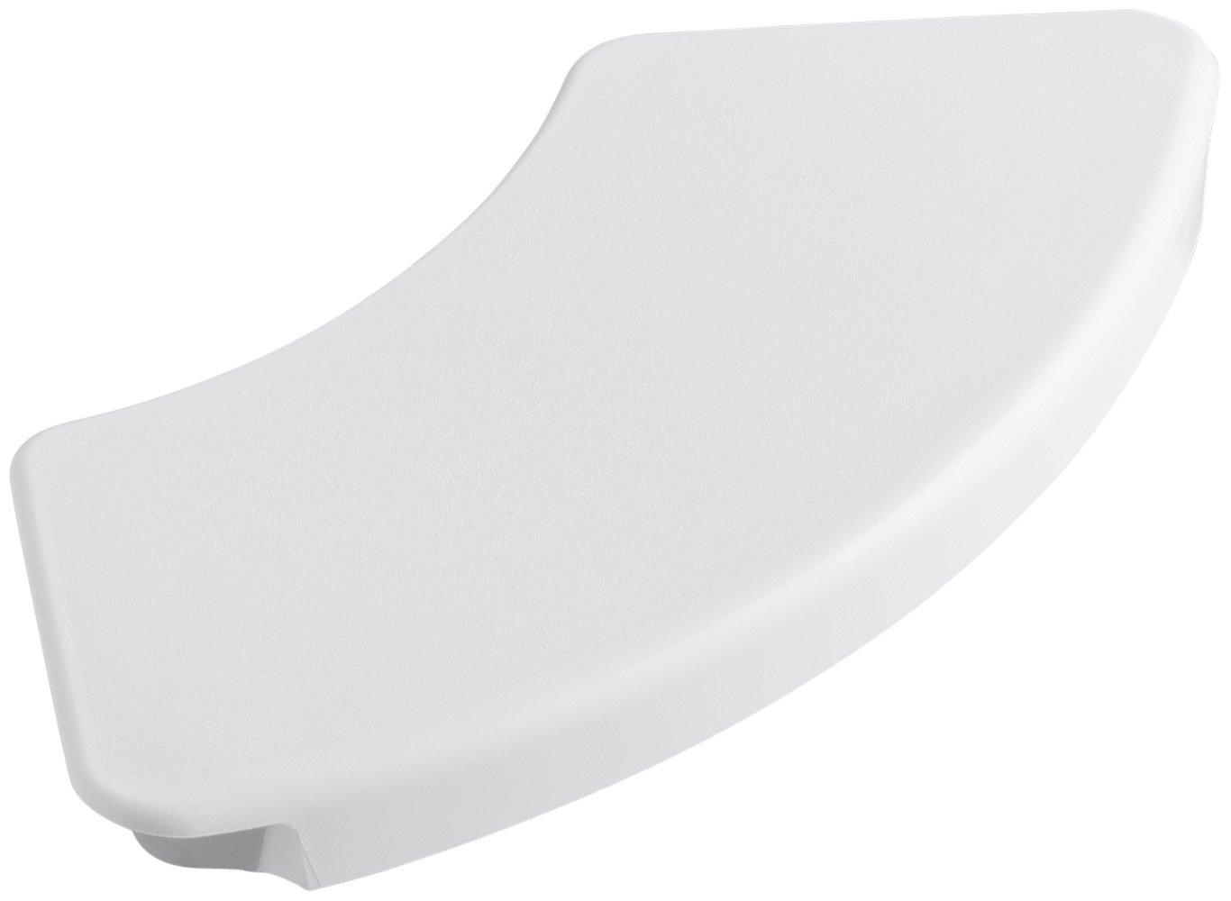 KOHLER K-9499-0 Removable Shower Seat, White