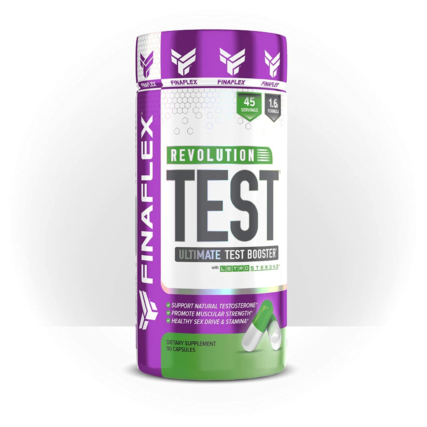 REVOLUTION TEST, Revitalize Energy, Promote Strength Gains and Stamina