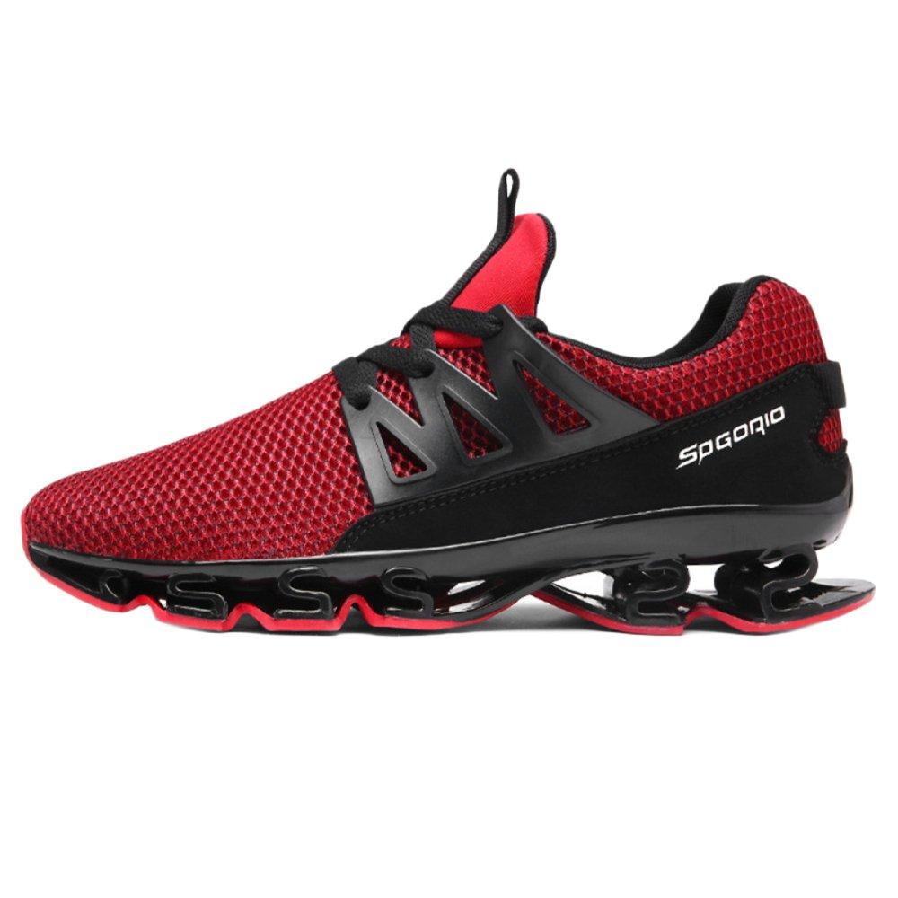 Nihiug Trail Running Schuhe Herren Sport Fitness Turnschuhe Atmungsaktive Low Rise Classic Mesh Outdoor-Sport Freizeitschuhe Wanderschuhe