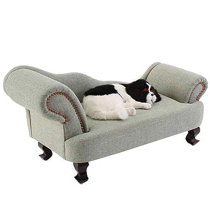 Cama perro Sofá para Perros, Sofá cómodo ortopédico para ...