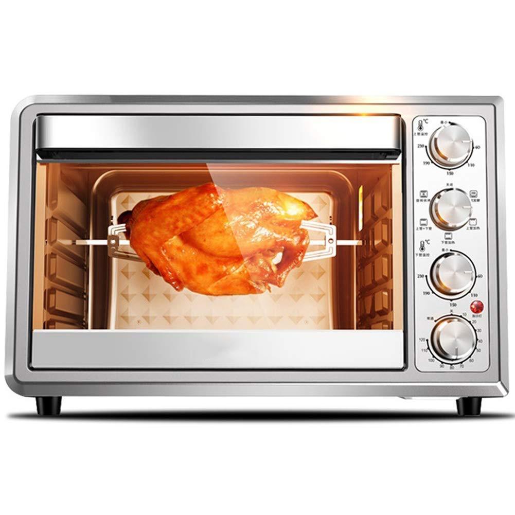 JINRU 4-Slice Toaster Oven, Stainless Steel